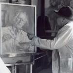 Dragoun maluje autoportrét