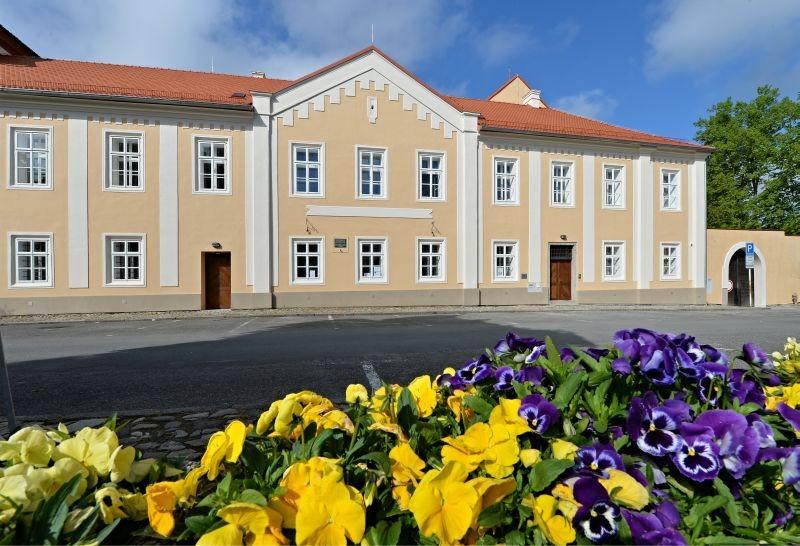 Husitské muzeum v Táboře - bývalý augustiniánský klášter, nám. Mikuláše z Husi (foto Zdeněk Prchlík ml.)