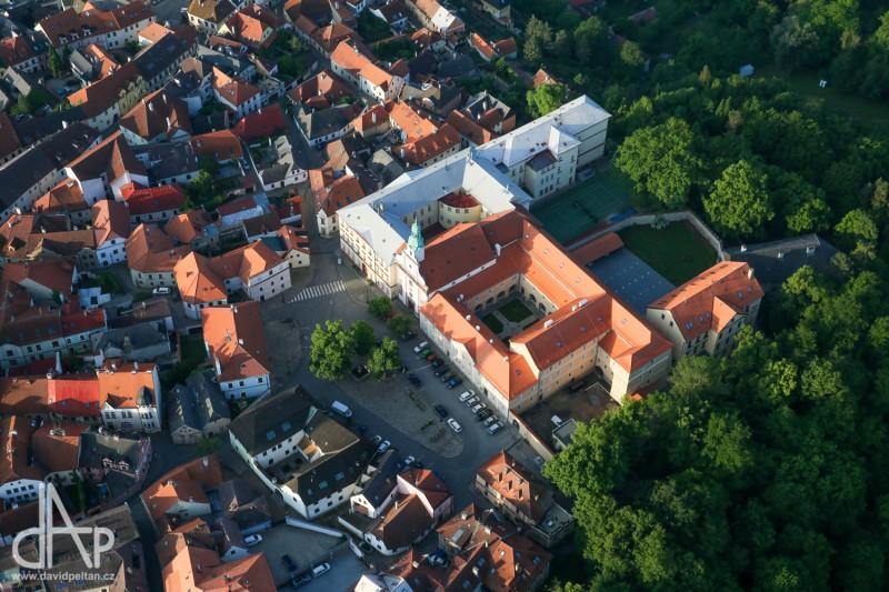 Husitské muzeum v Táboře - bývalý augustiniánský klášter, nám. Mikuláše z Husi (foto David Peltán)