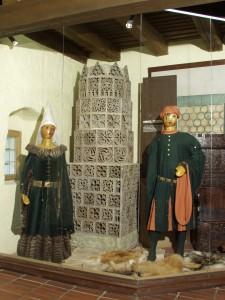expozice Život ve středověku