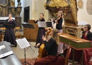 Ensemble Fiorello, Táborský triptych, 23. 6. 2016, kostel Narození PM