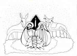 betlém-zadní strana