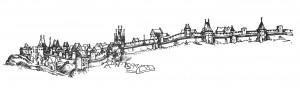 Willenberg, táborské severovýchodní opevněni 1602