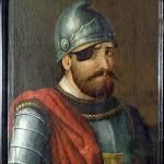036 obr-udalosti-2-1838 Anonymní podobizna Jana Žižky z 19. století ovlivněná tzv. ženevským portrétem; Husitské muzeum v Táboře